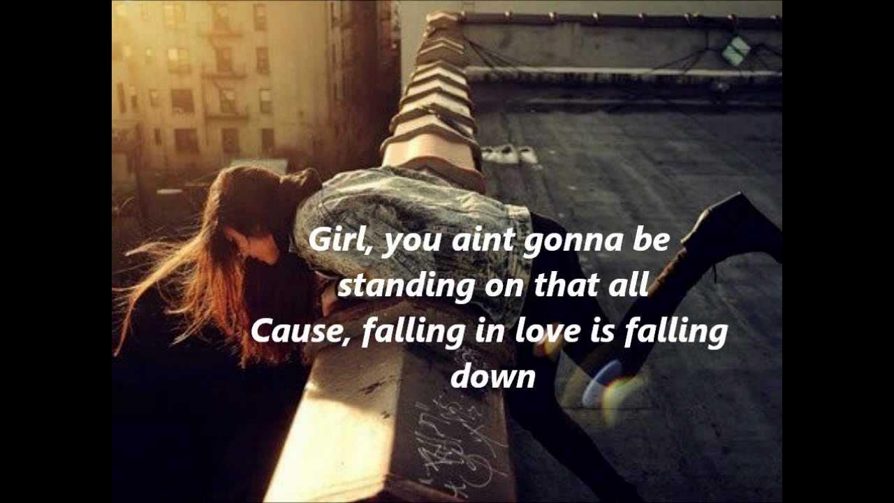 Lyrics for falling down by atreyu