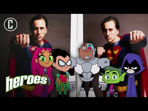 Nic Cage is Superman! - Heroes