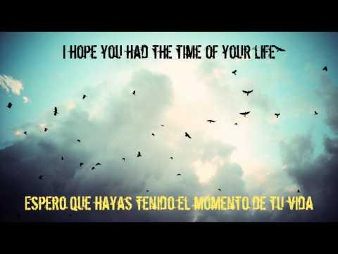 Green Day Good Riddance (Time Of Your Life) Subtitulada Español Inglés