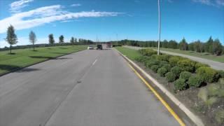 rmcs dumptruck drives to materials plant
