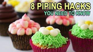 8 Piping Bag Hacks You Need To Know Ann Reardon Life Hacks