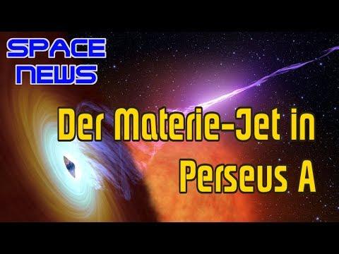 Der Plasma-Jet eines Schwarzen Lochs in Perseus A [Space News]