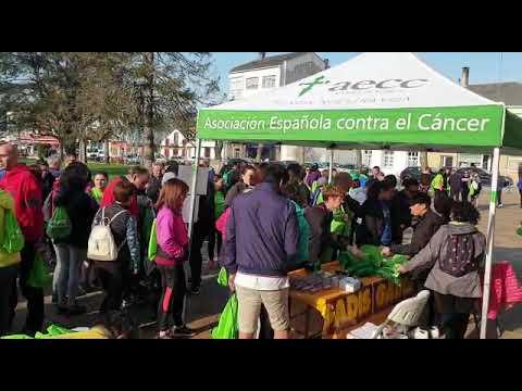 La andaina solidaria contra o cancro de As Pontes es todo un éxito