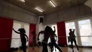 "Jason Young Choreography - Machel Montano Dancers Rehearsal ""Endless Wuk"" 1/25/15"