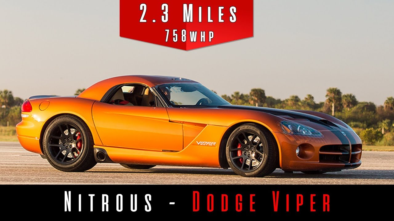 2010 Dodge Viper SRT 10 (Nitrous Top Speed) - YouTube