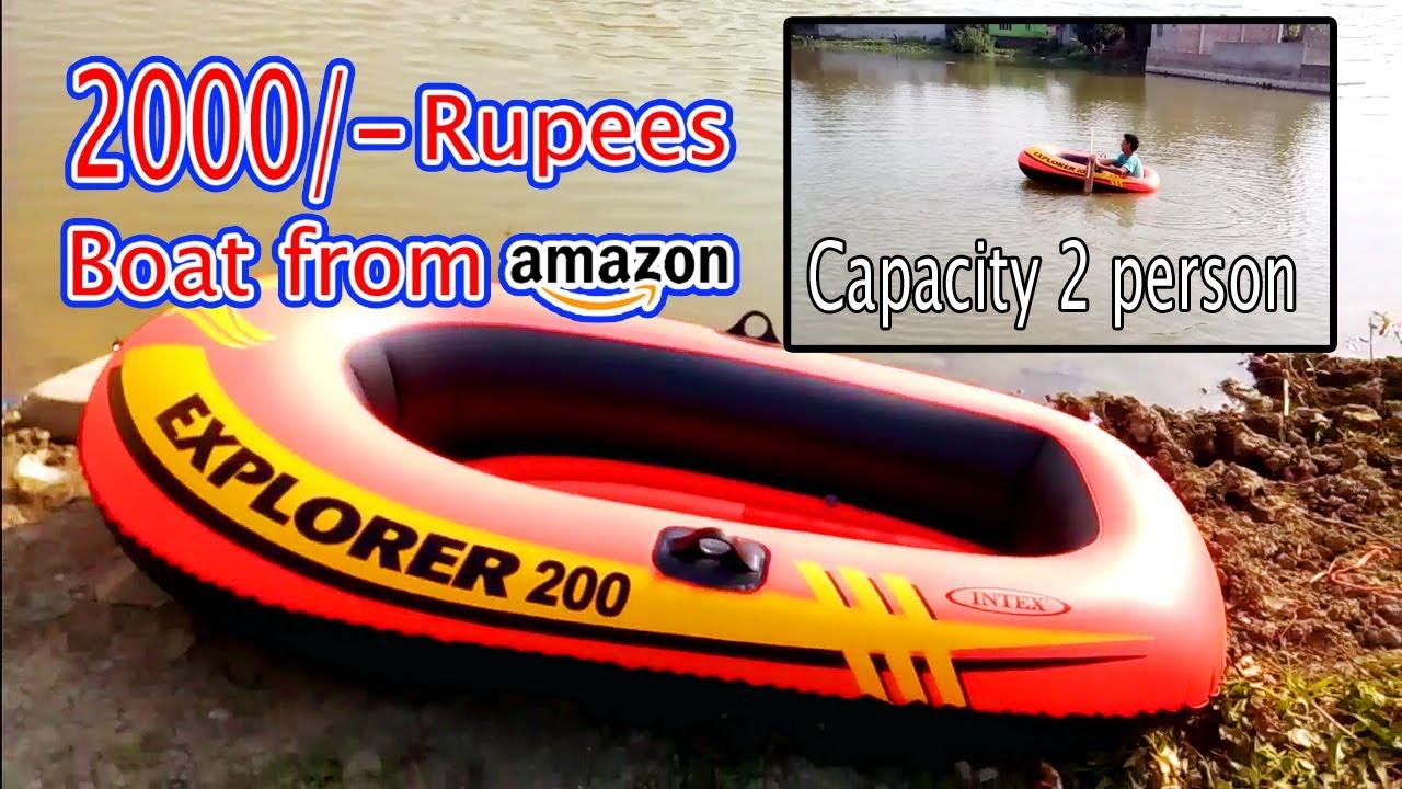 Explorer inflatable boat