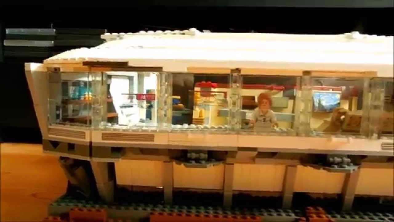 Lego malibu mansion moc youtube for Maison d iron man