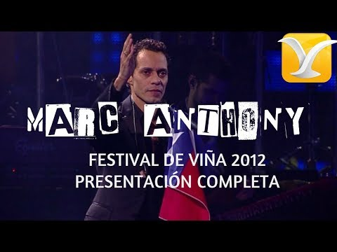 Marc Anthony - Festival de Viña del Mar 2012 - Presentación Completa