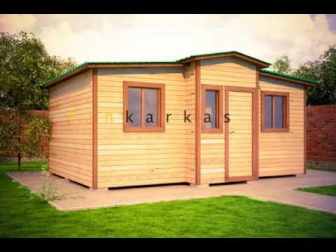 СРОЧНО !!! Продаю деревянный мобильный домик (вагончик, бытовку) в .