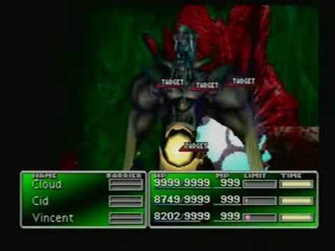 Final Fantasy VII-Bizarro Sephiroth-Boss Battle #40