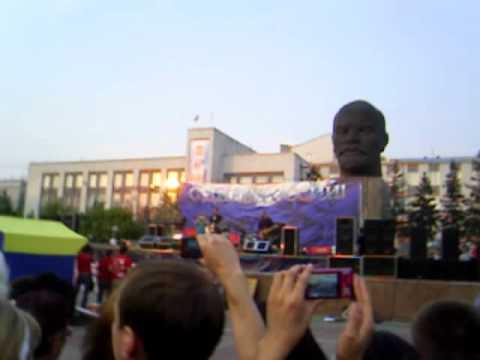 Ногу свело - Идём на Восток (Концерт в Улан-Удэ)