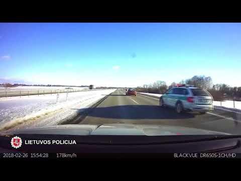 Tauragės pareigūnai sulaikė bėgusį neblaivų vairuotoją
