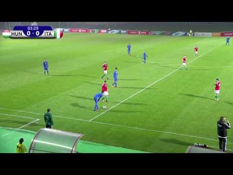 Hungary VS Italy 10.11.2016 /UEFA European Under-19 Championship 2016 Qualifying round/
