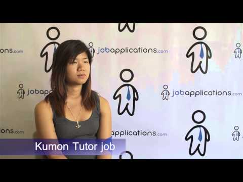 Kumon Interview - Tutor