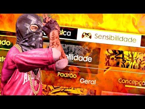 MINHA CONFIGURAÇÃO DE HEADSHOT SENSIBILIDADE E COMO TREINAR - FREE FIRE BATTLEGROUNDS