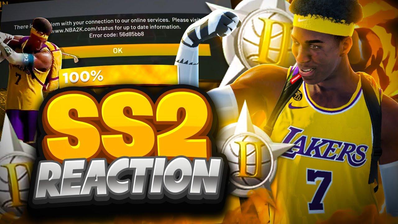 HITTING SUPERSTAR 2 GOES VERY WRONG • INSANE SS2 REACTION (GYM RAT BADGE UNLOCKED) NBA 2K21