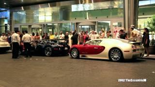 Bugatti Veyron Pegaso Edition at The Dubai Mall (featuring Bugatti Veyron Sang Noir)