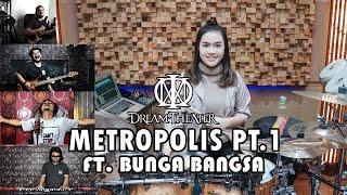 Dream Theater - Metropolis Part 1 | COVER by Sanca Records ft. Bunga Bangsa