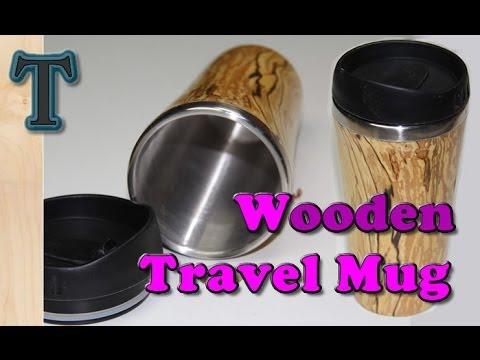 Woodturning Projects | Make a Wooden Travel Mug