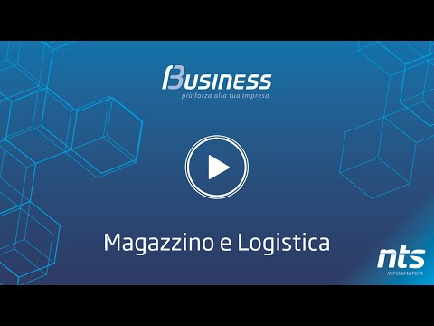 Business Cube - Magazzino e Logistica - NTS Informatica