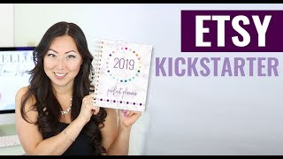New Product Etsy Kickstart Package // How To Start An Etsy Planner Shop