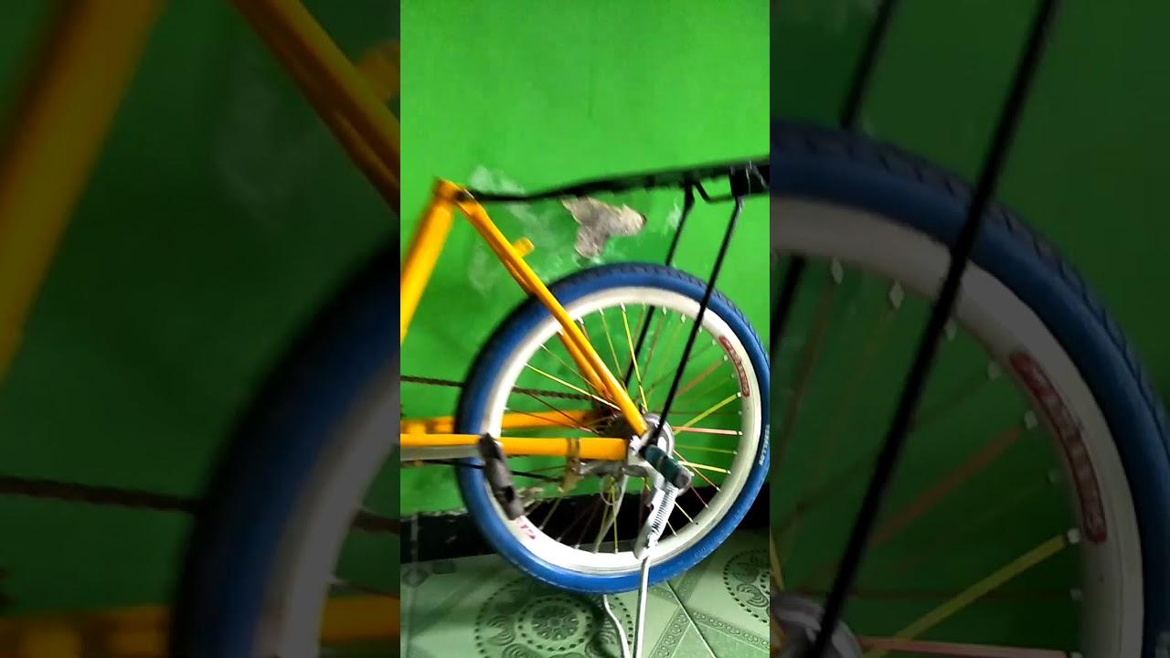 Gambar Modifikasi Sepeda Ontel Drag Sepeda Ontel Modifikasi Tubanan Part 1 Youtube