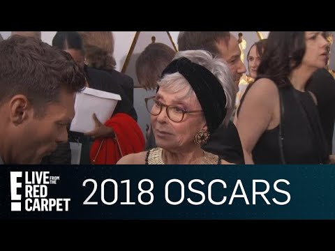 Rita Moreno Wears Her 1962 Oscar Win Dress to 2018 Oscars  E! Live from the Red Carpet