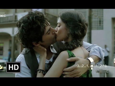 Rajeev kisses his girlfriend in public