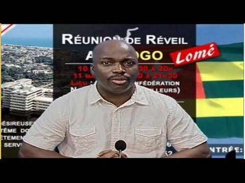 Partage de la parole sur Delta TV RTDS - Lomé / Togo (Shora KUETU - 10/03/16)
