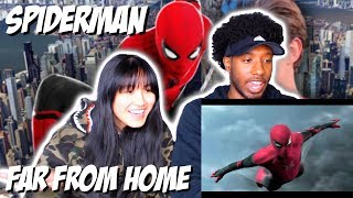 SPIDER-MAN: FAR FROM HOME - OFFICIAL TEASER TRAILER | REACTION