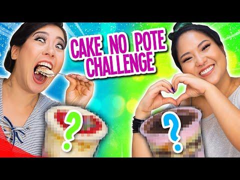 CAKE NO POTE CHALLENGE - Desafio do bolo   Blog das irmãs