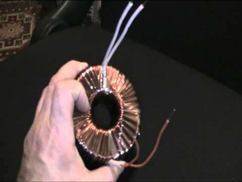 Тороидальный трансформатор.MOD