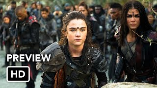 "The 100 5x13 Inside ""Damocles – Part Two"" (HD) Season 5 Episode 13 Inside Season Finale"