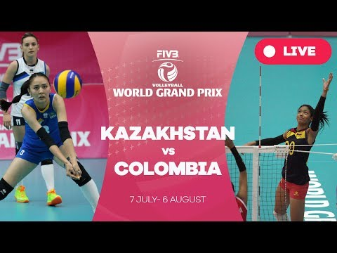 Kazakhstan v Colombia - Group 2: 2017 FIVB Volleyball World Grand Prix