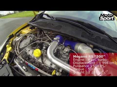 Renault Mégane RS 500 PS : insane acceleration (Motorsport)