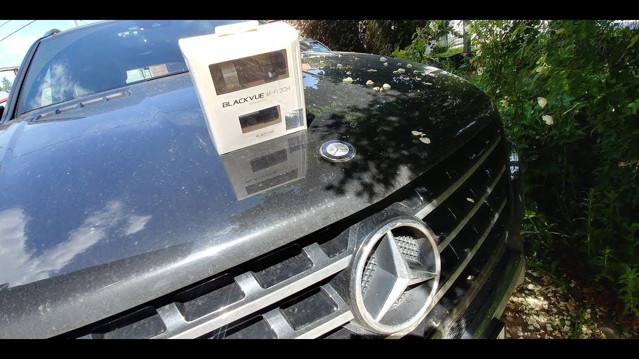 Установка регистратора в Mercedes ML
