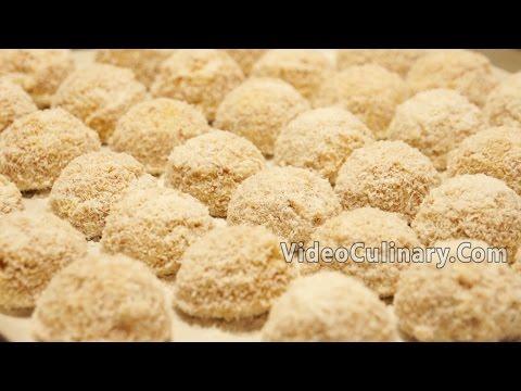 Raffaello Dessert  Recipe - Coconut Balls - Video Culinary