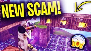 *NEW SCAM* The Floating Base Scam UPDATED BEWARE! Scammer Gets EXPOSED In Fortnite Save The World