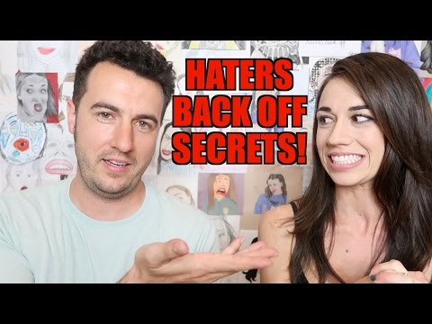 HATERS BACK OFF SECRETS!