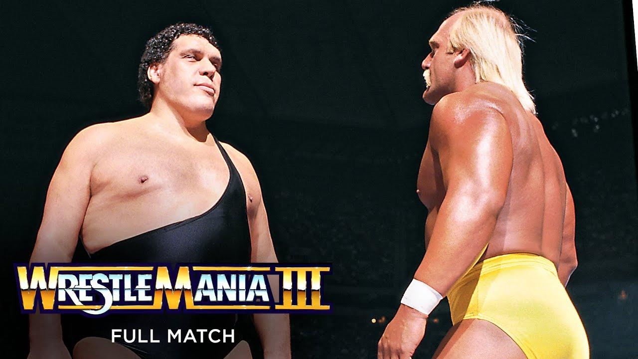 Download FULL MATCH - Hulk Hogan vs. Andre the Giant - WWE Championship Match: WrestleMania III