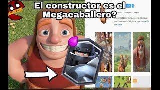El constructor es el Megacaballero? - teoria de Clash of Clans/Clash Royale