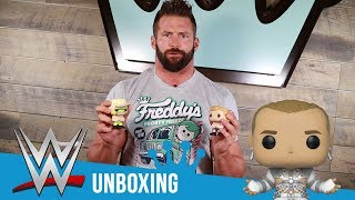 WWE Superstar Zack Ryder Unboxes our New WWE Pop!s!