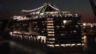 MSC Splendida Vs Costa Pacifica Barcelona