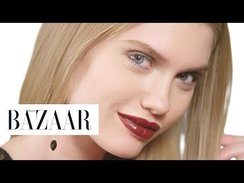 The Best Holiday Party Looks | Harper's BAZAAR + Clinique