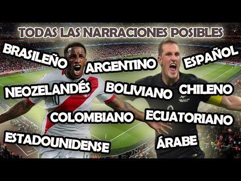 PERÚ - NUEVA ZELANDA | TODAS LAS NARRACIONES DEL MUNDO!