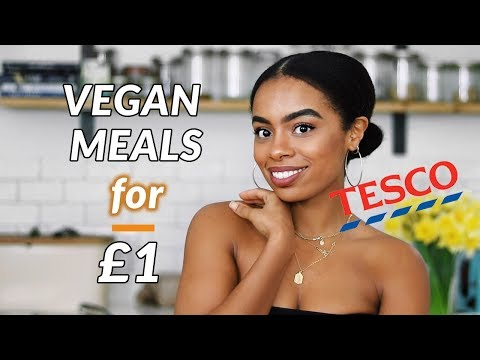 Easy Delicious Vegan Meals For Tesco