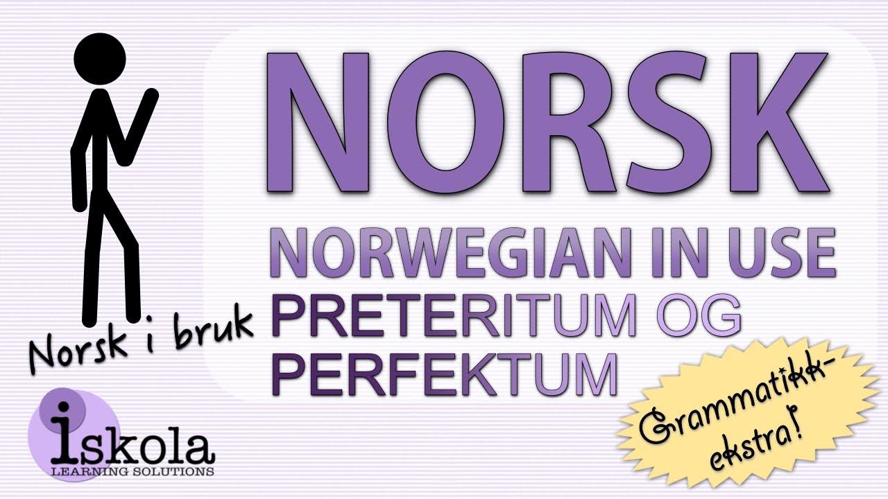 perfektum norsk