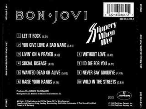 Bon Jovi- Without Love (Studio Demo)