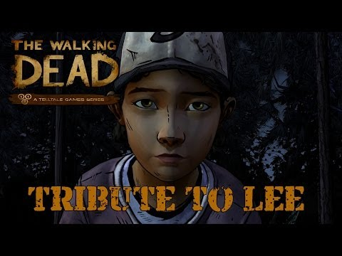 The Walking Dead: Season Two - Tribute to Lee (Soundtrack: Anadel - In the Water Clementine Remix)