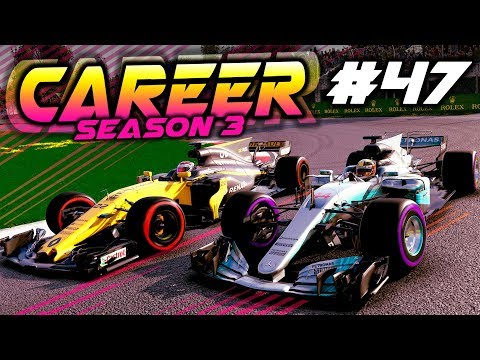 F1 2017 Career Mode Part 47: FIGHTING THE TOP GUYS AT CANADA!!!